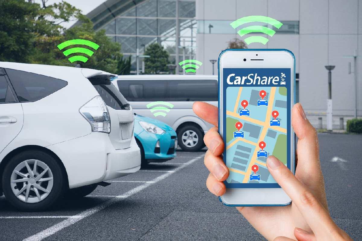 auto autos parkplatz carsharing app
