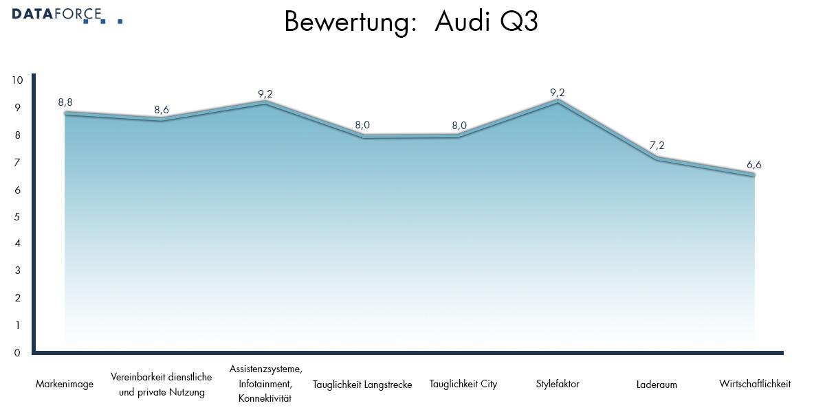 Bewertung Audi Q3