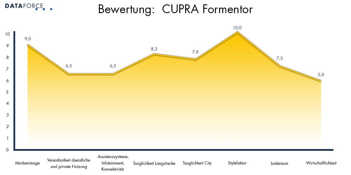 Bewertung CUPRA Formentor