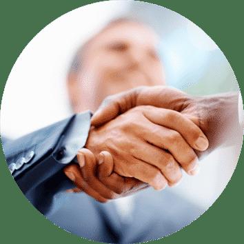 Bild Handeschütteln Kooperation