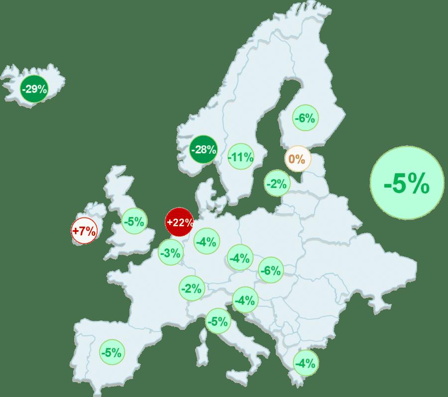 Infografik CO2 Emissionen Europa