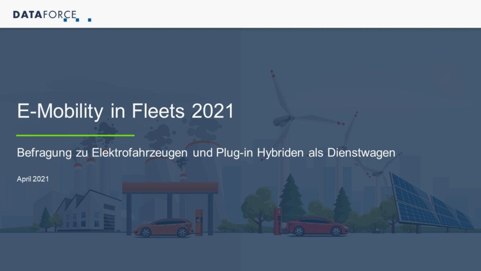 e-mobility in fleets 2021 - 1