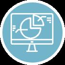 Icon für Online Reporting