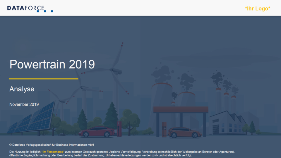 Dataforce Powertrain 2019 Studie Analyse