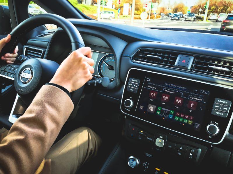 Nissan Leaf Innenraum